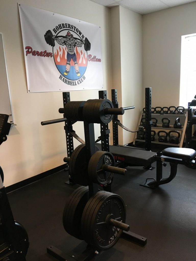 New firehouse gym